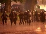 Подавление протеста в Грузии.