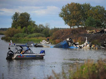 Минтранс связал катастрофу Як-42 с ошибкой в конструкции самолета