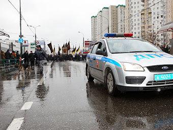 """В Москве начался """"Русский марш"""""""