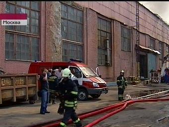 Обнаружено тело погибшего при пожаре на складе в Москве