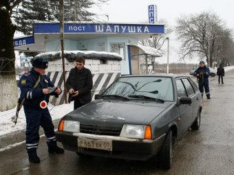 В Нальчике убиты два сотрудника полиции