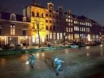 В Нидерландах впервые за 15 лет замерзли каналы