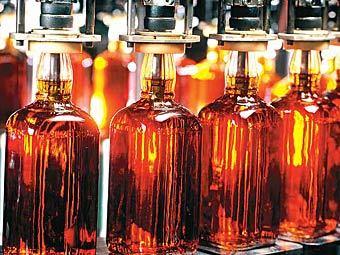 В Подмосковье закрыли цех по розливу поддельного виски