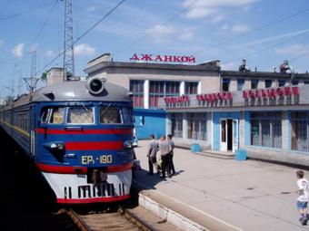 В Джанкое массово сокращают поезда