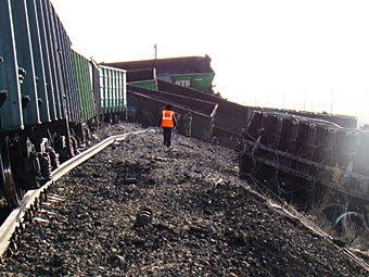Движение на Транссибе частично восстановлено после аварии