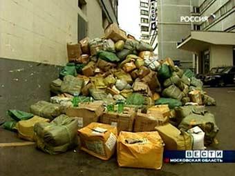 В Москве милиция пресекла попытку торговцев проникнуть на закрытый рынок