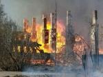 В Архангельске сгорели девять домов