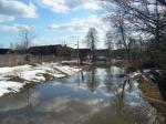 Паводок в Самарской губернии: затоплены восемь мостов и участок трассы