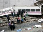 В Испании произошло самое крупное за 40 лет крушение поезда