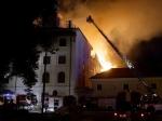 В Риге из-за пожара эвакуирована крупнейшая в городе больница