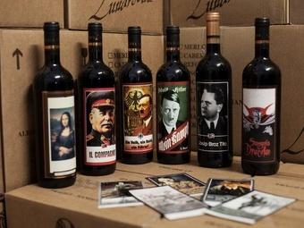 Итальянскую винодельню в очередной раз подвели диктаторы на бутылках