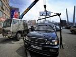 Встреча на Петровке: Лексус увозили эвакуатором