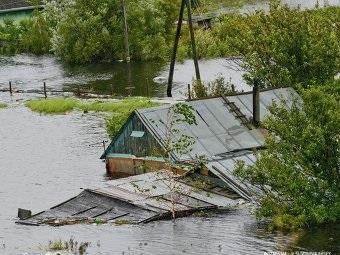 Уровень воды в Комсомольска-на-Амуре продолжает расти