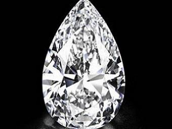Самый большой в мире бриллиант продадут на Sotheby