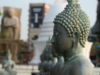 В Камбодже украли урну с останками Будды