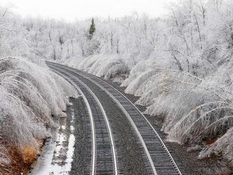 В США бушует ледяной шторм