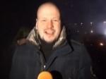 Российский журналист ранен во время столкновений в Киеве