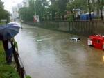 В Пятигорске из-за мощного ливня произошло наводнение