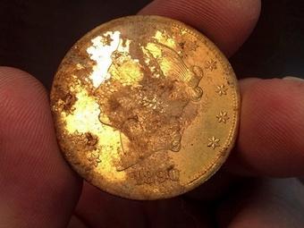 В Калифорнии найден старинный клад стоимостью $10 млн