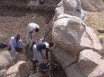 В Луксоре найдены две статуи фараона Аменхотепа III