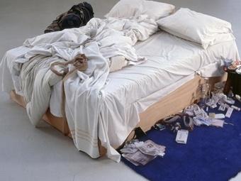 Неубранная постель продана за $4,3 млн