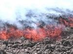 Вулкан Этна и аномальная жара
