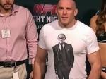 Олейник испугал американцев футболкой с Путиным