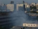 В центре столицы РФ загорелся военный склад