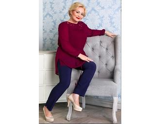 Актриса Светлана Пермякова выступила лицом plus size коллекции от Gepur
