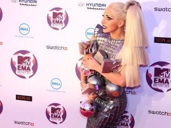Леди Гага получила четыре награды европейского MTV