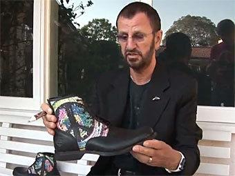 Timberland выставит на аукцион ботинки с автографом Ринго Старра