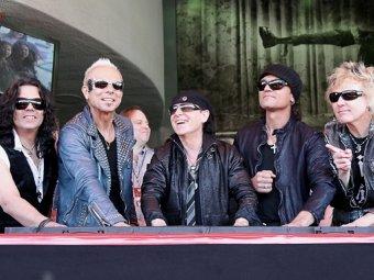 Scorpions повторят прощальный тур по России