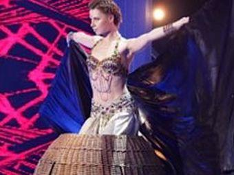Юлия Савичева чуть не сгорела на съемках шоу