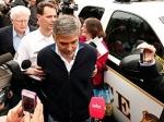 Джорджа Клуни освободили