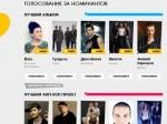 Объявлены номинанты на премию Муз-ТВ