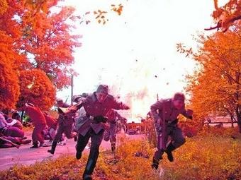 В Харькове произошёл взрыв на съёмках фильма «Матч смерти»