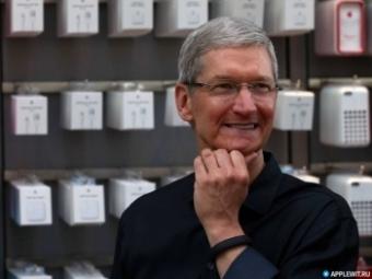Акции Apple достигли наивысшей цены всвоей истории
