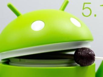 Впродаже появились смартфоны сAndroid 5.1