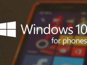 Microsoft выпустила тестовую Windows 10 для смартфонов Lumia