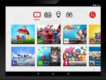 YouTube Kids— специальное приложение для детей