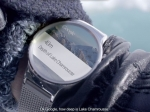 Часы Huawei сAndroid Wear засветились нарекламном плакате