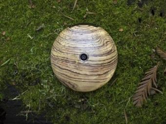 Смартфон Runcible: Круглый, деревянный, наFirefoxOS