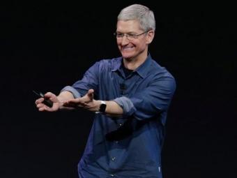 Тим Кук: Часы Apple Watch выйдут запределами США вапреле