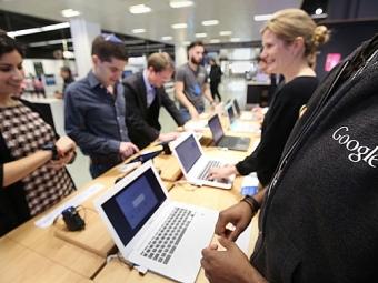 Google открыл вЛондоне первый фирменный магазин