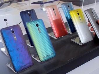 ASUS запустила впродажу четыре версии смартфона Zenfone 2