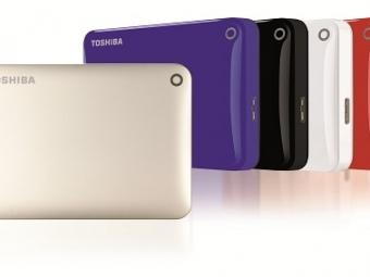 Toshiba анонсировала портативные накопители емкостью 3 ТБинастольные емкостью 6 ТБ