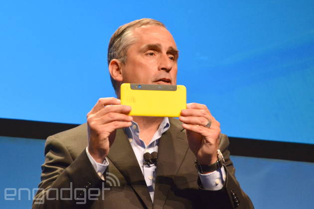 Intel представила прототип смартфона c3D камерой