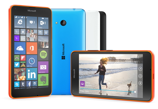 Lumia 640 стал доступен россиянам