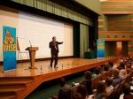 Александр Высоцкий выступил на весенней конференции