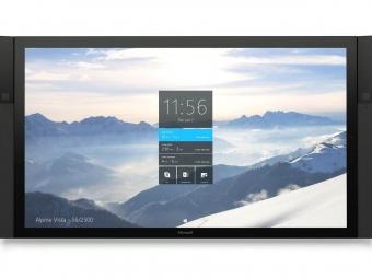 Поставки 84-дюймовых интерактивных 4К-дисплеев Microsoft Surface Hub стоимостью $20 тыс начнутся осенью